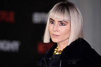 Noomi Rapace at the European premiere for &quot;Bright&quot; European premiere at the BFI South Bank, London, UK. <br /> 15 December  2017<br /> Picture: Steve Vas/Featureflash/SilverHub 0208 004 5359 sales@silverhubmedia.com