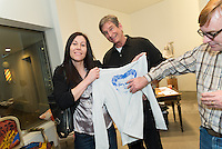 Aids Walk T-shirt unveiling at Sloan Hall