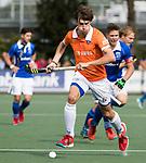 UTRECHT - Florian Fuchs (Bldaal)  tijdens de hockey hoofdklasse competitiewedstrijd heren:  Kampong-Bloemendaal (3-3). COPYRIGHT KOEN SUYK