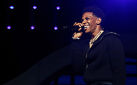 LOS ANGELES, CALIFORNIA - JUNE 21: A Boogie wit da Hoodie performs onstage at the 2019 BET Experience STAPLES Center Concert at Staples Center on June 21, 2019 in Los Angeles, California. Photo: CraSH for imageSPACE /MediaPunch
