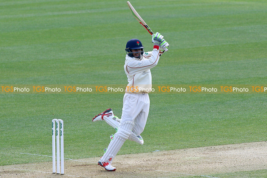 Haseeb Hameed in batting action for Lancashire during Essex CCC vs Lancashire CCC, Specsavers County Championship Division 1 Cricket at The Cloudfm County Ground on 7th April 2017
