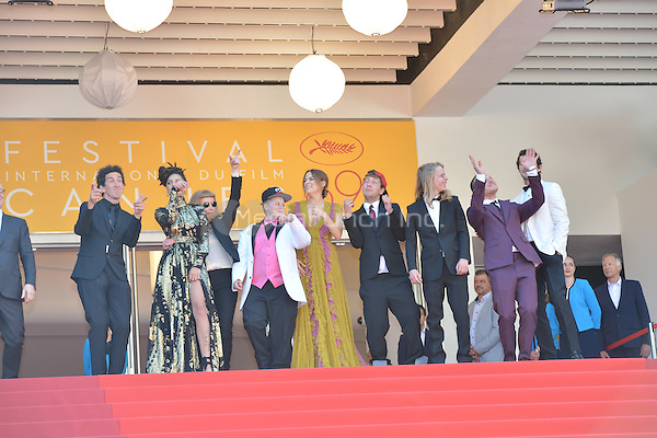 Riley Keough, Sasha Lane, director Andrea Arnold, Veronica Ezell, Raymond Coalson, Isaiah Stone, McCaul Lombardi and Shia LaBeouf  at the &laquo;American Honey` screening during The 69th Annual Cannes Film Festival on May 15, 2016 in Cannes, France.<br /> CAP/LAF<br /> &copy;Lafitte/Capital Pictures<br /> Riley Keough, Sasha Lane, director Andrea Arnold, Veronica Ezell, Raymond Coalson, Isaiah Stone, McCaul Lombardi and Shia LaBeouf  at the &acute;American Honey` screening during The 69th Annual Cannes Film Festival on May 15, 2016 in Cannes, France.<br /> CAP/LAF<br /> &copy;Lafitte/Capital Pictures /MediaPunch ***NORTH AND SOUTH AMERICA ONLY***