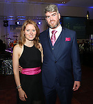 2/8/2014   (with compliments). Alan's Sport Extravaganza Slick and Stylish Ball in the South Court Hotel, Limerick which was held in memory of Alan Feeley and in aid of the Irish Kidney Association(IKA).  Pictured are Aideen and Hugh Feeley, Baldoyle, Dublin. Picture Liam Burke/Press 22