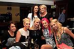 Shakira Delaney, Aoife Conroy, Joanne Malocca, Stephanie Kieran, Shauna Browning, Nicole Hill and Niamh Bidwell in McHughs...Photo NEWSFILE/Jenny Matthews..(Photo credit should read Jenny Matthews/NEWSFILE)