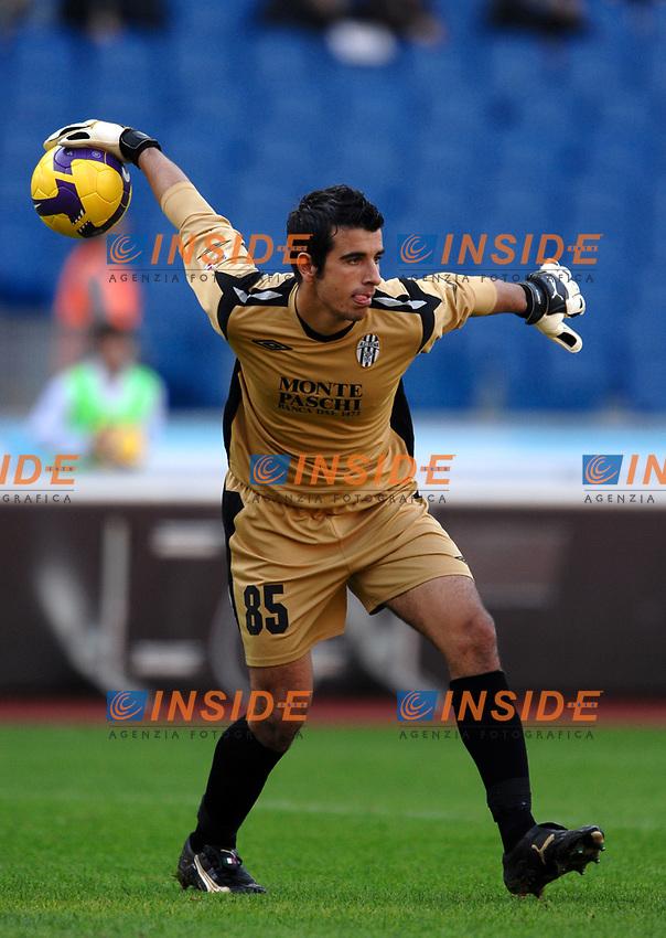 Gianluca Curci (Siena)<br /> Roma 9/11/2008 Stadio &quot;Olimpico&quot; <br /> Campionato Italiano Serie A 2008/2009<br /> Lazio Siena (3-0)<br /> Foto Andrea Staccioli Insidefoto
