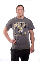 NWA Democrat-Gazette/ANDY SHUPE<br /> Bentonville wrestler Zane Sims is the Arkansas Democrat-Gazette Wrestler of the Year Thursday, April 11, 2019. Requested by Elizabeth Pannell<br /> Sales and Event Manager<br /> Arkansas Democrat-Gazette<br /> 501-378-3807<br /> epannell@arkansasonline.com