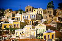 Yialos, Island of Symi, Dodecanese, Greece
