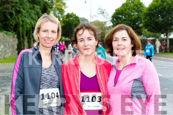 Frances Clifford Faha, Ann Clifford and Geraldine Darcy Castlecove at the Killarney Women's mini-marathon on Saturday