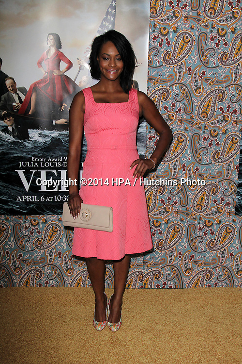 "LOS ANGELES - MAR 24:  Sufe Bradshaw at the ""VEEP"" Season 3 LA Premiere at Paramount Studios on March 24, 2014 in Los Angeles, CA"