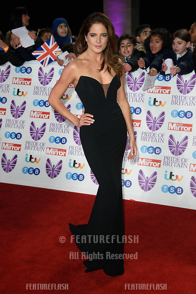 LONDON, UK. October 29, 2018: Binky Felsted at the Pride of Britain Awards 2018 at the Grosvenor House Hotel, London.<br /> Picture: Steve Vas/Featureflash