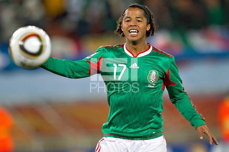 Giovani Dos Santos of Mexico