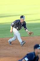 Chris Engell, San Diego Toreros in a series at Arizona State University, 4/5 - 4/6/2010 .Photo by:  Bill Mitchell/Four Seam Images.