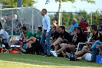 NIEUW BUINEN - Voetbal , Nieuw Buinen - FC Groningen, voorbereiding seizoen 2018-2019, 04-07-2018,  FC Groningen trainer Danny Buijs