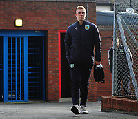 Burnley's Ben Mee arrives at Selhurst Park<br /> <br /> Photographer Ashley Crowden/CameraSport<br /> <br /> The Premier League - Crystal Palace v Burnley - Saturday 13th January 2018 - Selhurst Park - London<br /> <br /> World Copyright &copy; 2018 CameraSport. All rights reserved. 43 Linden Ave. Countesthorpe. Leicester. England. LE8 5PG - Tel: +44 (0) 116 277 4147 - admin@camerasport.com - www.camerasport.com