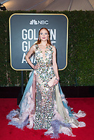 Model Barbara Meier attends the 75th Annual Golden Globes Awards at the Beverly Hilton in Beverly Hills, CA on Sunday, January 7, 2018.<br /> *Editorial Use Only*<br /> CAP/PLF/HFPA<br /> &copy;HFPA/Capital Pictures