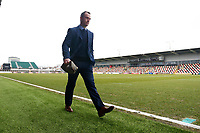 Newport County manager Michael Flynn arrives at Rodney Parade prior to kick off of the Fly Emirates FA Cup Fourth Round match between Newport County and Tottenham Hotspur at Rodney Parade, Newport, Wales, UK. Saturday 27 January 2018