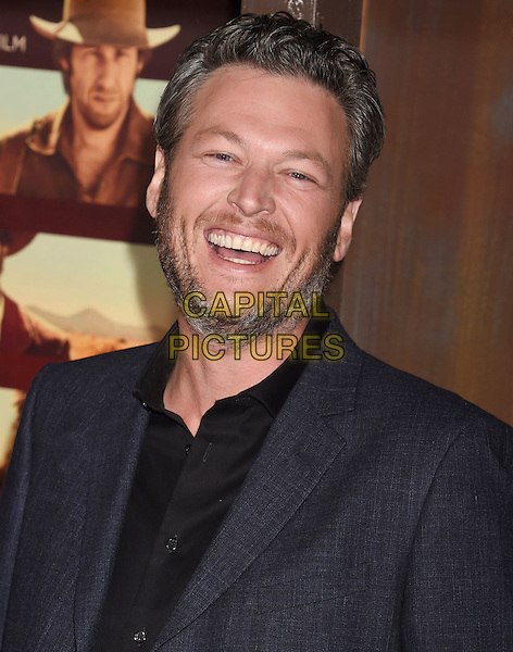 UNIVERSAL CITY, CA - NOVEMBER 30: Singer Blake Shelton arrives at the premiere of Netflix's 'The Ridiculous 6' at AMC Universal City Walk on November 30, 2015 in Universal City, California.<br /> CAP/ROT/TM<br /> &copy;TM/ROT/Capital Pictures