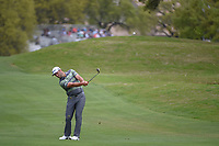 Jon Rahm (ESP) hits his approach shot on 1 during day 3 of the WGC Dell Match Play, at the Austin Country Club, Austin, Texas, USA. 3/29/2019.<br /> Picture: Golffile | Ken Murray<br /> <br /> <br /> All photo usage must carry mandatory copyright credit (© Golffile | Ken Murray)