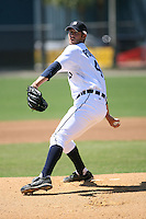 March 21st 2008:  Rick Porcello of the Detroit Tigers minor league system during Spring Training at Tiger Town in Lakeland, FL.  Photo by:  Mike Janes/Four Seam Images