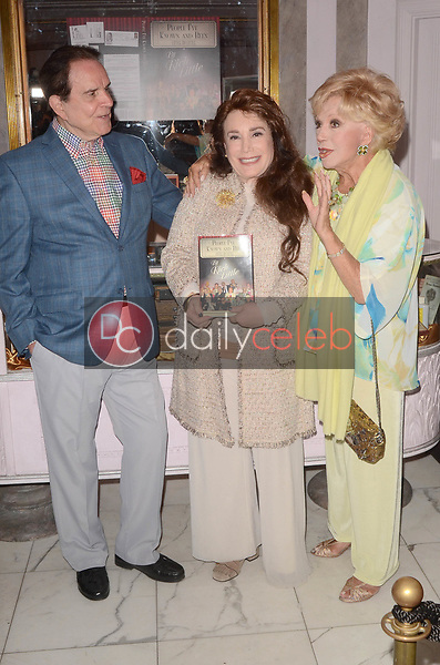 """Rich Little, Donelle Dadigan, Ruta Lee<br /> at Rich Little's signing of  """"People I've Known and Been: Little by Little,"""" honoring George Burns, Johnny Carson and Dean Martin with a display at the Hollywood Museum of the props he has used to impersonate them over the years, The Hollywood Museum, Hollywood, CA 06-01-18<br /> David Edwards/DailyCeleb.com 818-249-4998"""