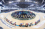 Riders compete in the Men's Omnium Finals during the 2017 UCI Track Cycling World Championships on 15 April 2017, in Hong Kong Velodrome, Hong Kong, China. Photo by Chris Wong / Power Sport Images