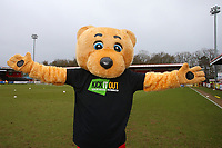 Boro Bear with Kick It Out t-shirt during Stevenage vs Crewe Alexandra, Sky Bet EFL League 2 Football at the Lamex Stadium on 10th March 2018