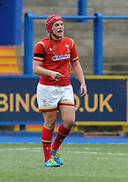 Wales' Carys Phillips in action during todays match<br /> <br /> Photographer Ian Cook/CameraSport<br /> <br /> Women's Six Nations Round 4 - Wales Women v Ireland Women - Saturday 11th March 2017 - Cardiff Arms Park - Cardiff<br /> <br /> World Copyright &copy; 2017 CameraSport. All rights reserved. 43 Linden Ave. Countesthorpe. Leicester. England. LE8 5PG - Tel: +44 (0) 116 277 4147 - admin@camerasport.com - www.camerasport.com