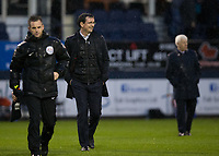 Blackpool manager Gary Bowyer at half time<br /> <br /> Photographer Craig Mercer/CameraSport<br /> <br /> The EFL Sky Bet League Two Play-Off Semi Final Second Leg - Luton Town v Blackpool - Thursday 18th May 2017 - Kenilworth Road - Luton<br /> <br /> World Copyright &copy; 2017 CameraSport. All rights reserved. 43 Linden Ave. Countesthorpe. Leicester. England. LE8 5PG - Tel: +44 (0) 116 277 4147 - admin@camerasport.com - www.camerasport.com