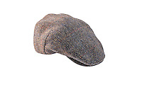 Packshot of the Highland Harris Tweed Cap