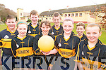 SPIKEBALL: Members of the Glenbeigh Warriors spikeball team, front l-r: Sarah Sheahan, Mary Claire Teahan, Kelly Sheahan, Lorna Griffin. Back l-r: Patrick O'Grady, Calvin Teahan, Tommy Cahill, Conor Blunt.