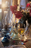 """Océanie/Australie/South Australia/Australie Méridionale/Clare Valley/Auburn: Chardonnay 1995 de Pikes photographié à """"Tatehams Historic Guesthouse"""""""