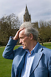 Colin Thubron at Christ Church, during the Sunday Times Oxford Literary Festival, UK, 2-10 April 2011. <br />