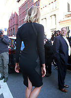 March 11,  2019  Karlie Kloss leaving the Tonight Show after talking about new season of Project Runaway in New York, USA on March 11, 2019.<br /> CAP/MPI/RW<br /> &copy;RW/MPI/Capital Pictures