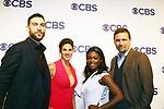 Missy Peregrym, Zeeko Zaki, Ebonee Noel, Jeremy Sisto - FBI - CBS Upfront 2018 on May 17, 2018 at the Plaza Hotel, New York City, New York with new Prime Time 2018-19 shows (Photo by Sue Coflin/Max Photo)