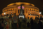 The Last Night of the Proms. The Royal Albert Hall South Kensington London. UK  2007. The Henry Wood Promenade Concerts.