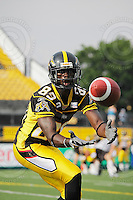 June 26, 2008; Hamilton, ON, CAN; Hamilton Tiger-Cats wide receiver Scott Mitchell (89). CFL football - Montreal Alouettes defeated the Hamilton Tiger-Cats 33-10 at Ivor Wynne Stadium. Mandatory Credit: Ron Scheffler-www.ronscheffler.com. Copyright (c) Ron Scheffler
