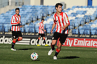 Athletic Club B's Unai Bilbao during 2014-15 Spanish Second Division match between Real Madrid Castilla and Athletic Club B at Alfredo Di Stefano stadium in Madrid, Spain. February 08, 2015. (ALTERPHOTOS/Luis Fernandez) /NORTEphoto.com