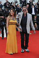 VENICE - August 29:  Fabio Testi and wife attend the opening ceremony of 75th Venice Film Festival on August 29, 2018 in Venice, Italy.(By Mark Cape/Insidefoto)