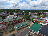 Downtown Orange located in Orange County, Virginia. Photo/Andrew Shurtleff