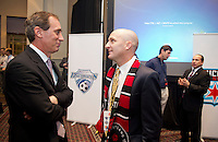 Paul Riley, Jim Gabarra. The NWSL draft was held at the Pennsylvania Convention Center in Philadelphia, PA, on January 17, 2014.