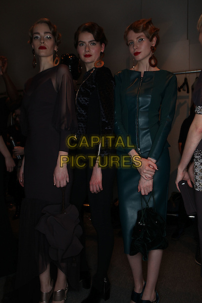CHIARA BONI<br /> New York Fashion Week FW 17 18<br /> in New York, USA February 2017.<br /> CAP/GOL<br /> &copy;GOL/Capital Pictures
