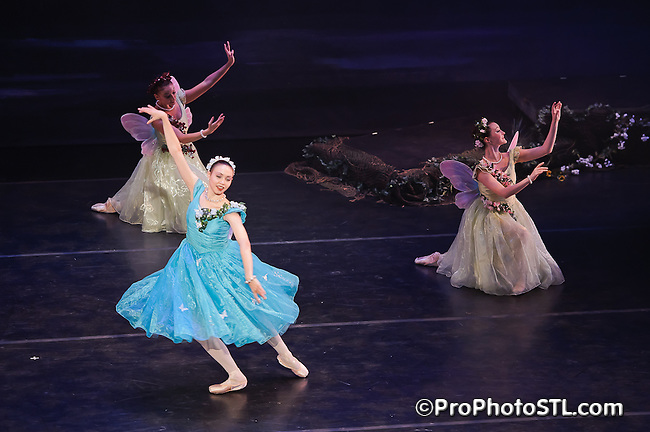A Midsummer Night's Dream by Missouri Ballet Theatre at Edison Theatre in St. Louis, MO on May 14, 2011.