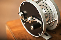 Bozeman Reel's S-Handle Classic draws inspiration from the 19th Century designs of Edward vom Hofe.