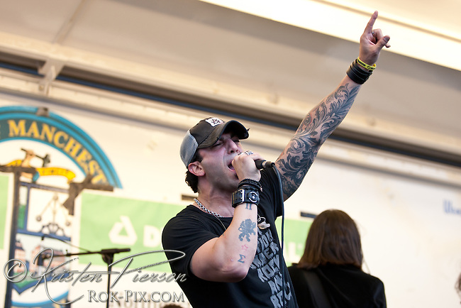 Eve To Adam perform at the ROCK 101 WGIR FM Sky Show in Manchester, NH on June 2, 2012