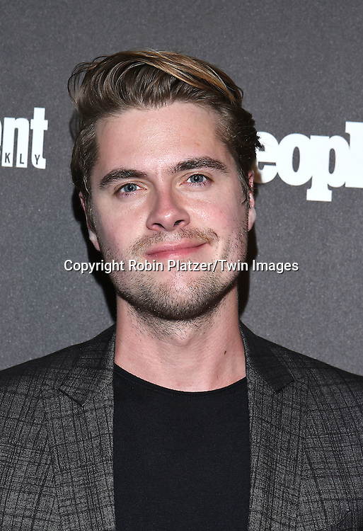 Jeffrey Self attends the Entertainment Weekly &amp; PEOPLE Magazine New York Upfronts Celebration on May 16, 2016 at Cedar Lake in New York, New York, USA.<br /> <br /> photo by Robin Platzer/Twin Images<br />  <br /> phone number 212-935-0770