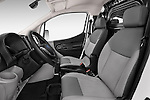 Front seat view of a 2015 Nissan NV200 Optima 4 Door Cargo Van 2WD Front Seat car photos