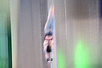 Netherland's Celine van Duikn compete in the women's 10m platform semifinal A<br /> <br /> Photographer Hannah Fountain/CameraSport<br /> <br /> FINA/CNSG Diving World Series 2019 - Day 2 - Saturday 18th May 2019 - London Aquatics Centre - Queen Elizabeth Olympic Park - London<br /> <br /> World Copyright © 2019 CameraSport. All rights reserved. 43 Linden Ave. Countesthorpe. Leicester. England. LE8 5PG - Tel: +44 (0) 116 277 4147 - admin@camerasport.com - www.camerasport.com