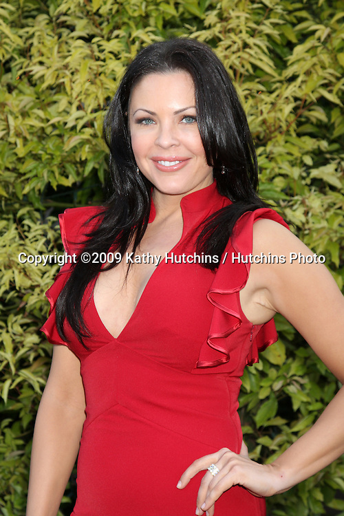 Christa Campbell arriving at the Saturn Awards 2009 at the Castaways in Burbank, CA  on June 24, 2009.  .©2009 Kathy Hutchins / Hutchins Photo .