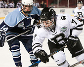 Kate Kohl (CC - 14), Maureen Greason (Bowdoin - 7) - The Babson College Polar Bears defeated the Connecticut College Camels 3-0 on Thursday, January 12, 2017, at Fenway Park in Boston, Massachusetts.