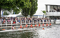 Henley Royal Regatta, Henley on Thames, Oxfordshire, 28 June - 2 July 2017.  Wednesday  14:46:55   28/06/2017  [Mandatory Credit/Intersport Images]<br /> <br /> Rowing, Henley Reach, Henley Royal Regatta.<br /> <br /> The Temple Challenge Cup<br />  University of Virginia, U.S.A.